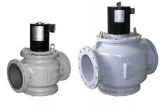 Клапан электромагнитный ВН стальной (чугунный)